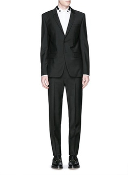 Givenchy - Notch Lapel Wool-Mohair Suit