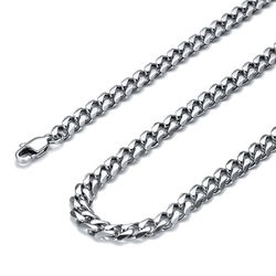 Jstyle - Stainless Steel Chain Necklace