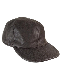 Collection XIIX - Leather Baseball Cap