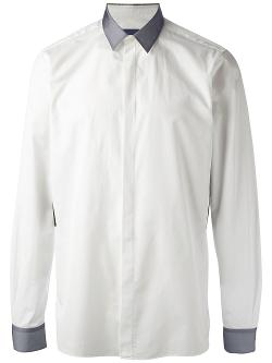 Lanvin  - Contrast Panel Shirt