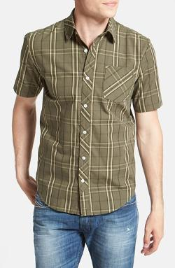 Volcom - Weirdoh Short Sleeve Plaid Woven Shirt