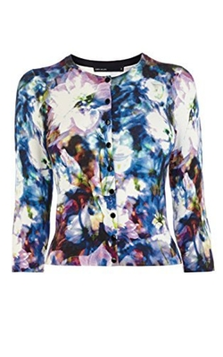 Karen Millen - Beautiful Floral Print Cardigan