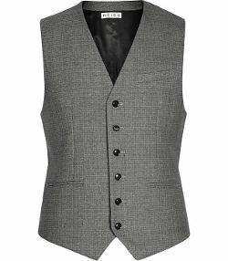 Charles W  - Modern Tailored Waistcoat