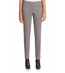 Lafayette 148 New York  - Stanton Stretch Wool Full-Length Pants
