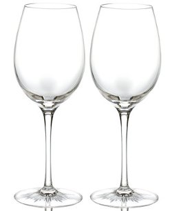 Waterford  - Clear Red Wine Glasses