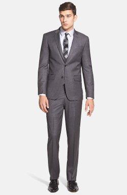 John Varvatos Star USA  - Trim Fit Wool Suit