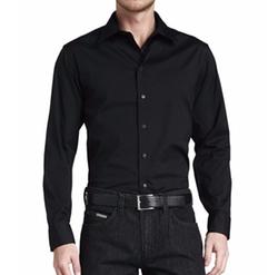 Armani Collezioni - Stretch-Poplin Sport Shirt