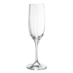 Stephanie  - Champagne Flute Glass