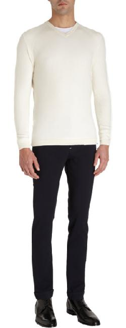 THINPLE  - V-Neck Sweater