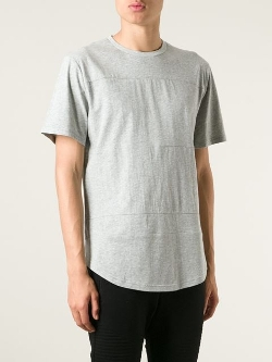 Stampd - Paneled Crew Neck T-Shirt
