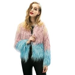 Gillberry Jacket - Faux Fur Long Sleeve Coat