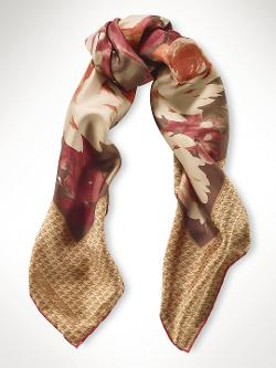 Ralph Lauren - Floral Silk Scarf
