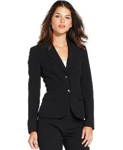 Nine West  - Two-Button Stretch Blazer