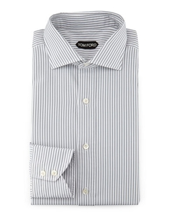 Tom Ford - Striped Button-Down Shirt