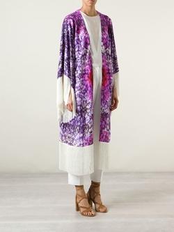 Athena Procopiou - Fringed Floral Kimono