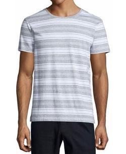 Vince - Jaspe Striped Short-Sleeve T-Shirt