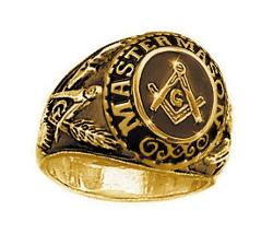C&D Masonic Jewelry - Stainless Steel Freemason Ring Masonic Ring
