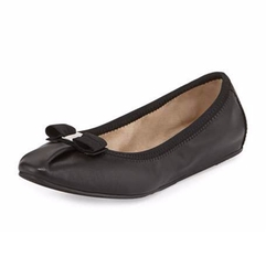 Salvatore Ferragamo - My Joy Matte Leather Ballet Flats
