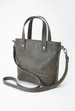 Forever 21 - Pebbled Faux Leather Satchel
