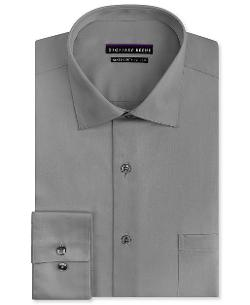 Geoffrey Beene  - Big and Tall Non-Iron Sateen Solid Dress Shirt