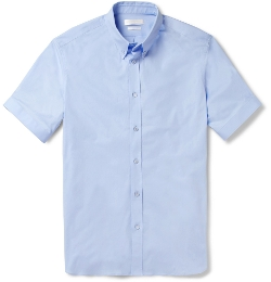 Alexander McQueen   - Slim Fit Short Sleeved Shirt