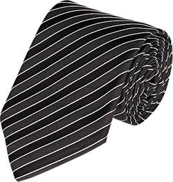 Ralph Lauren Black Label  - Diagonal-Striped Necktie