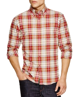 New England Shirt Company - Borelli Plaid Button Down Shirt