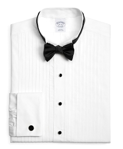 Brooks Brothers - Regent Fit Ten-Pleat Wing Tuxedo Shirt