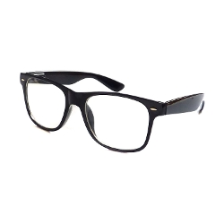 Kids Fashion - Oversize Black Frame Eye Glasses