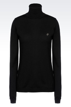 Armani - Turtle Neck Sweater in Virgin Wool