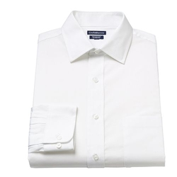 Croft & Barrow - Classic-Fit Solid Spread-Collar Dress Shirt