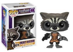 Funko  - POP Marvel: Guardians of The Galaxy - Rocket Raccoon Vinyl Figure