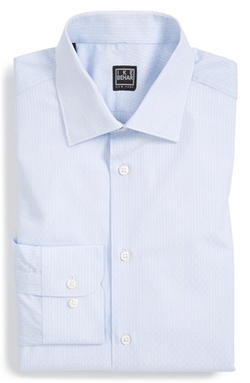 Ike Behar - Classic Fit Dobby Dress Shirt