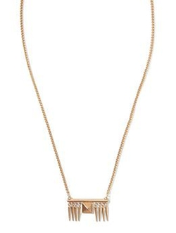 Banana Republic  - Pyramid Spike Pendant Necklace