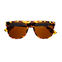 Freyrs Eyewear - Gold Arms Flat Top Sunglasses