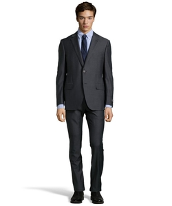 Ermenegildo Zegna  - Bar Stripe Wool Two Button