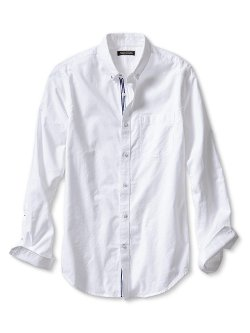 Banana Republic - Tailored Slim-Fit Bold Oxford Shirt