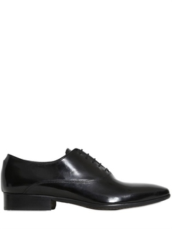 Wo Milano  - Abraded Leather Oxford Lace-Up Shoes