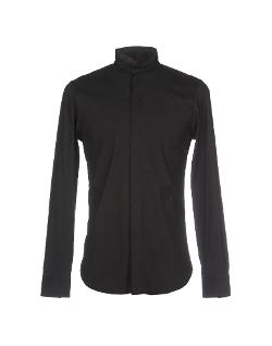Emporio Armani  - Mandarin Collar Shirt
