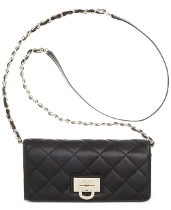 DKNY - Quilted Nappa Leather Clutch Bag