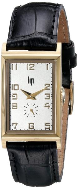 Lip - Leather Strap Analog Watch