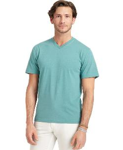 Izod - V-Neck Solid Jersey T-Shirt