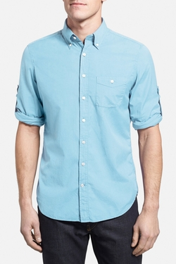 Gant Rugger  - L. Malibu Madras Solid Shirt