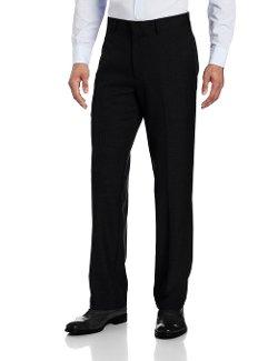 John Henry - Flat Front Modern Fit Herringbone Pants