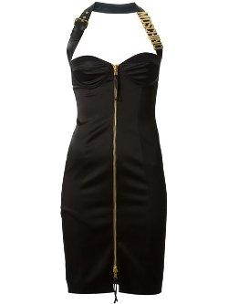 Moschino - Bustier Halter Dress