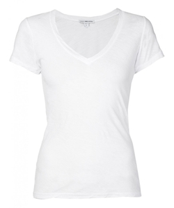 James Perse  - Casual V-Neck T-Shirt