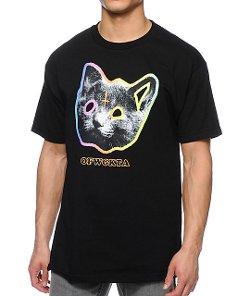 Odd Future  - OFWGKTA Tron Cat Black T-Shirt