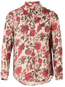 Uma Wang  - Floral Print Shirt