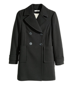 H&M - Double-Breasted Coat