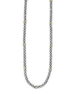 Lagos - Caviar-Rope Necklace